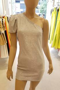 Vestido C/ Glitter -