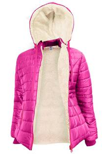 Campera de mujer inflable -