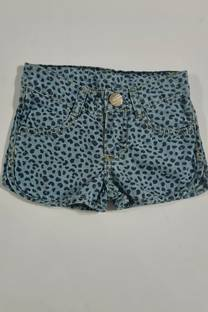 Short jean animal print nena -