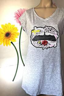 Vestido Labio flor -