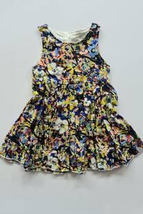 Vestido floreado beba -