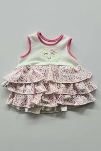 Body vestido algodon beba -