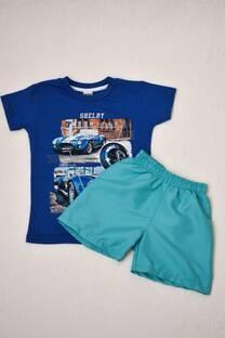 PACK duo Remera línea premium  + Short de baño niño  -
