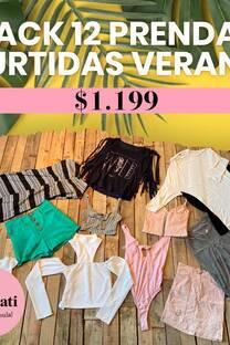 PACK 12 PRENDAS SURTIDAS VERANO -