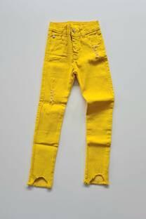 Pantalon gabardina con roturas nena -