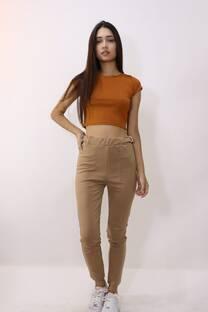 Pantalon Punto Roma C/Hebillas -