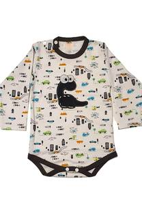 Body estampado con bordado bebe -