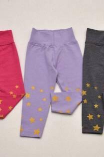 PACK por 3 calzas de beba estrellas -