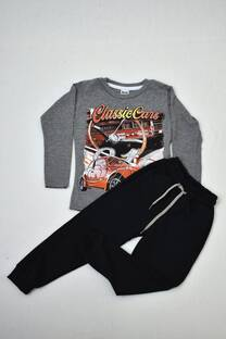 PACK camiseta línea premiun + babuchas rústica de algodón  -