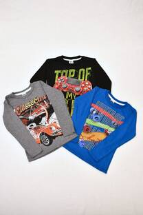 PACK por 3 camisetas línea premium de varón -