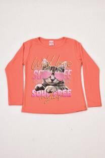 camiseta línea premiun niña -