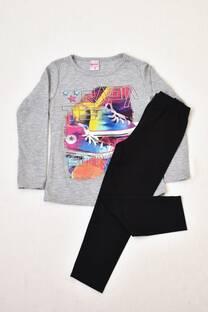 PACK camiseta línea premium +calza de modal con Lycra  -