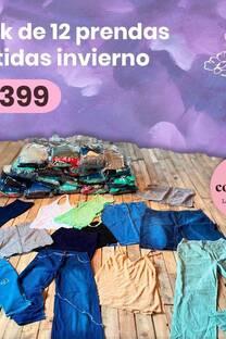 PACK X12 PRENDAS SURTIDAS OTOÑO-INVIERNO -