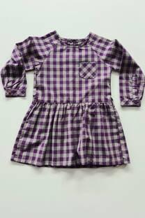 Vestido cuadrille beba -