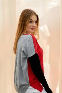 Sweater Sidney tricolor -