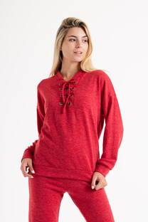 Sweater de lanilla con argollas -