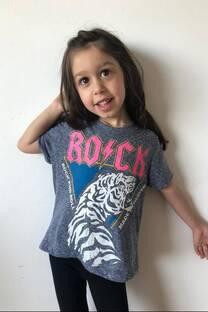 Remera Rock Tigre  -