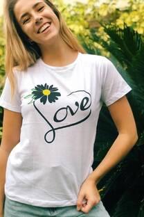 Remera Love Girasol -