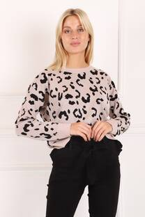 SWEATER ANIMAL PRINT -