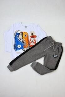 Promo pack remera manga larga línea premiun + pantalon babucha con friza  -