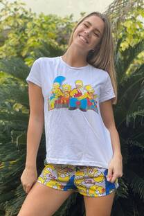 Conjunto Pijama Los Simpsons  -