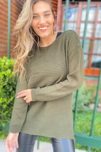 Sweater Con Pompones -