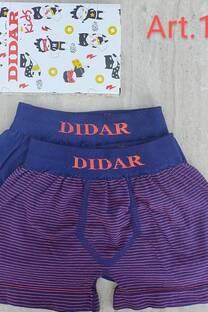 BOXER DE NIÑO DIDAR X 2U.  -