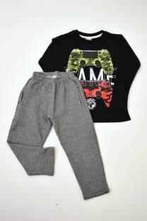 Promo pack pantalón con friza + remera manga larga línea premium -