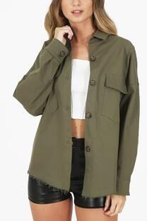 Camisaco Oversize Gabardina -