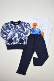 Promo pack buzo de friza + remera manga larga línea premiun+ pantalón de friza -