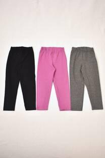 Promo pack por 3 calzas de algodón con Lycra -