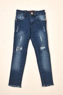 Jeans niña semielastizado -