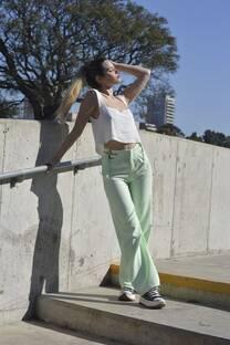 Pantalon Crep c/hebilla -