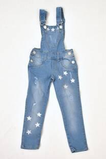 jardinero de jeans niña -
