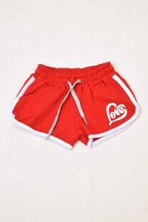 shorts rústico niña -