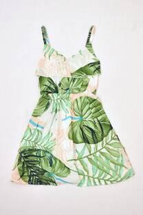 Vestido de fibrana niña  -