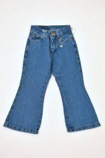 pantalón jeans Oxford niña -