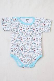 body manga corta línea bebé  -