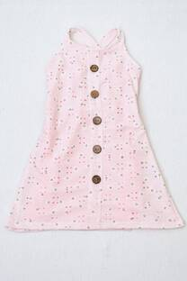vestido de BRODERY con forro interno -