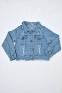 campera de jeans niña -