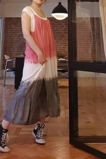 Vestido  JODIE  BATIK  Rayon  poplin batik