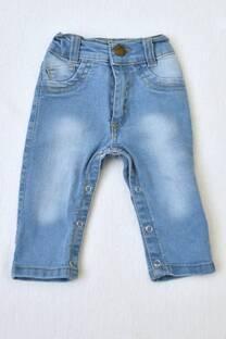 pantalón pañalero de jeans beba -