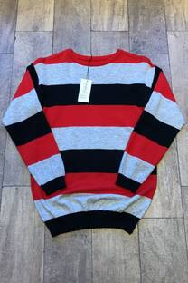 Sweater manhattan rayado -