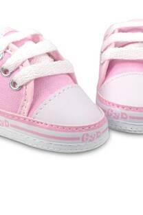 zapatilla de lona línea no caminante  -