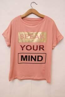 REMERA SPEAK YOUR MIND -