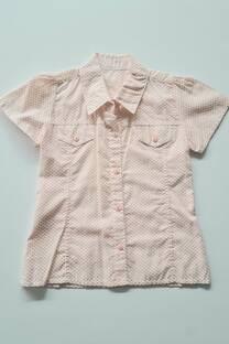 Camisa poplin puntitos Nena