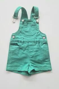 Jardinero gabardina elastizado bebe -