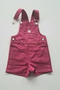 Jardinero gabardina bordado beba -