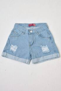 short de jeans mom niñas  -