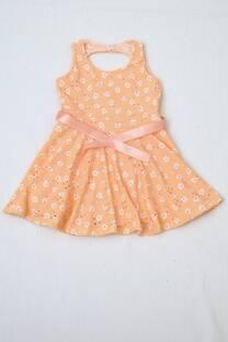 vestido de brodery línea niñas -